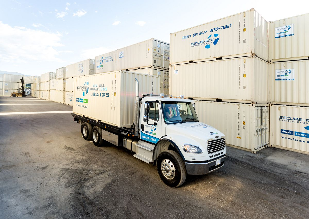 Storage Containers Secure Rite Mobile Storage Containers
